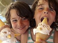 Lekker grote ijsjes eten in Rovinj