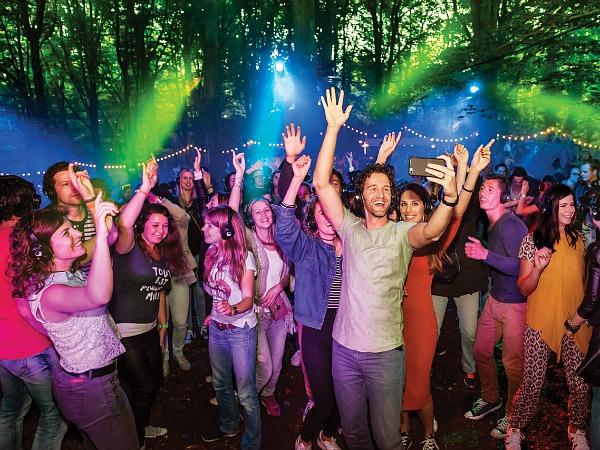 Efteling Midsummer Festival silent disco