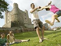Plezier bij de Engelse kastelen