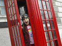 Een echte Engelse telefooncel