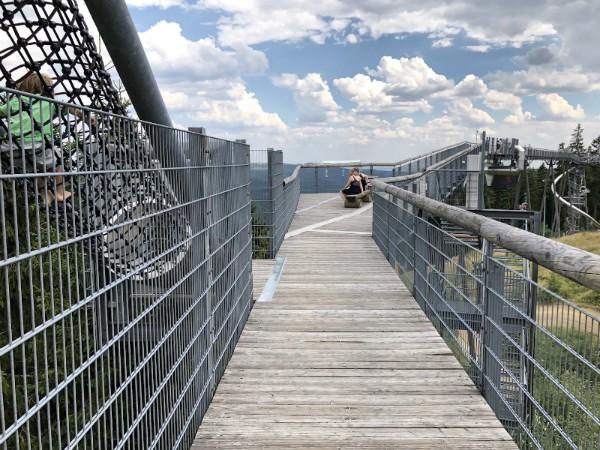 Leuk! De Erlebnisbrücke bij Winterberg