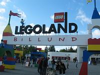 Legoland in Billund, Denemarken