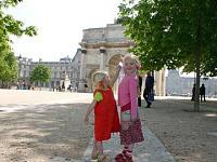 Met kids in Parijs