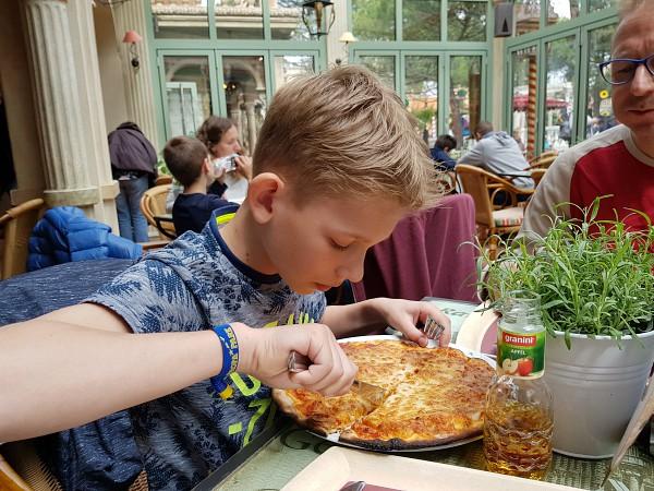 europa-park glutenvrije pizza