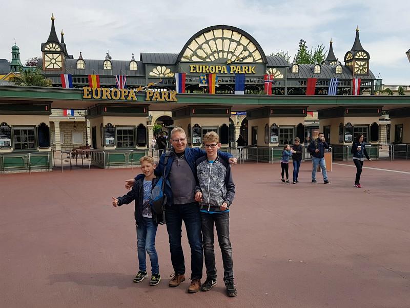 Europa-Park ingang