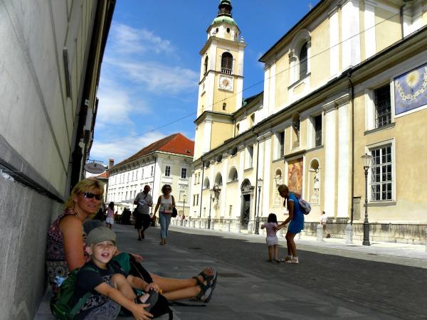 Even rust in Ljubljana