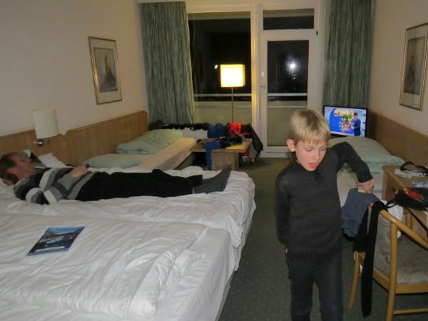 Onze 4-persoonskamer in het Sauerland Stern