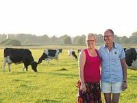 Boer en Boerin Johan en Lucie