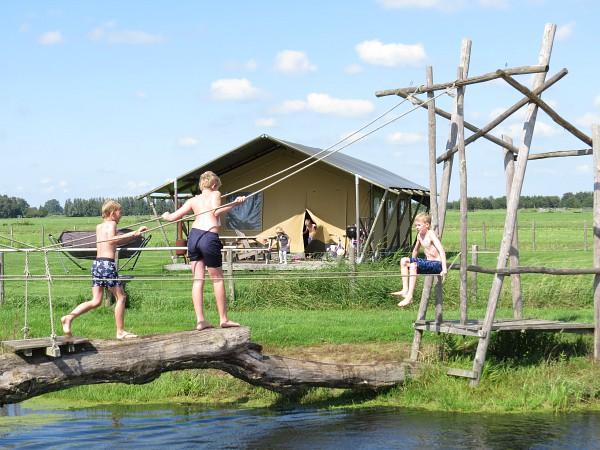 Waterpret bij Farmcamps Stolkse Weide