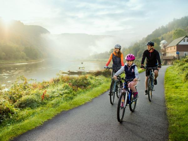 Prachtige fietstocht langs de Elbe