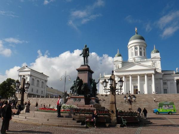 Mooi plein in Helsinki