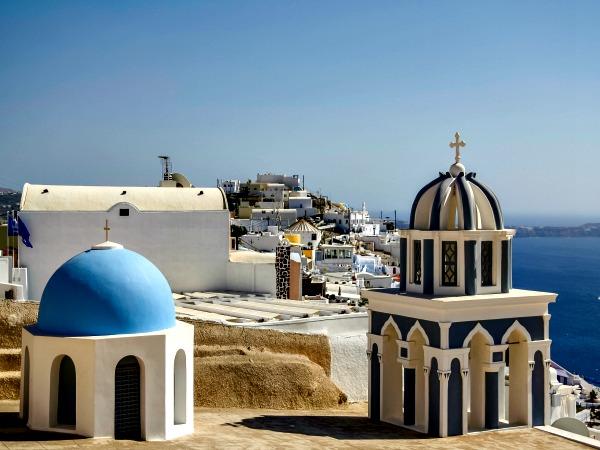Kerkje in Firostefani