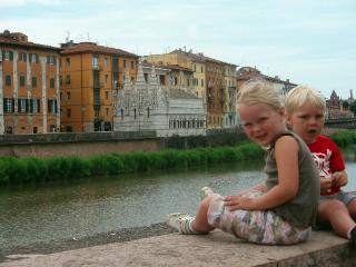 Uitzicht op het mooie Florence