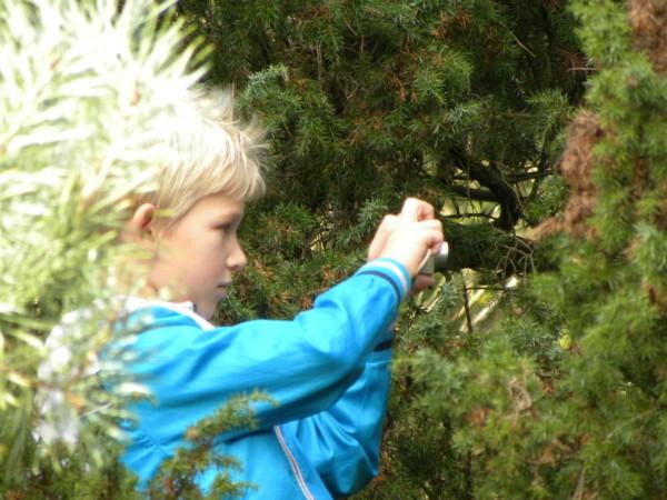 Gewapend met een eigen camera de natuur ontdekken