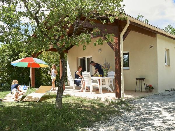 Een vakantiehuis op één van de vakantieparken van France Comfort