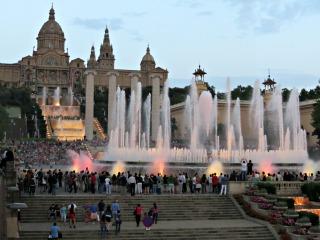 De magische fonteinen van Fuente Magico