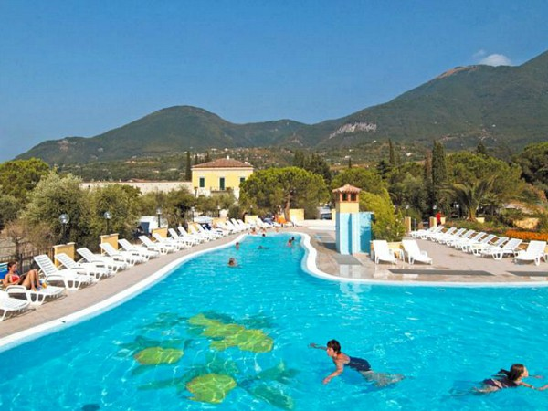 Zwembad van Camping Toscalano