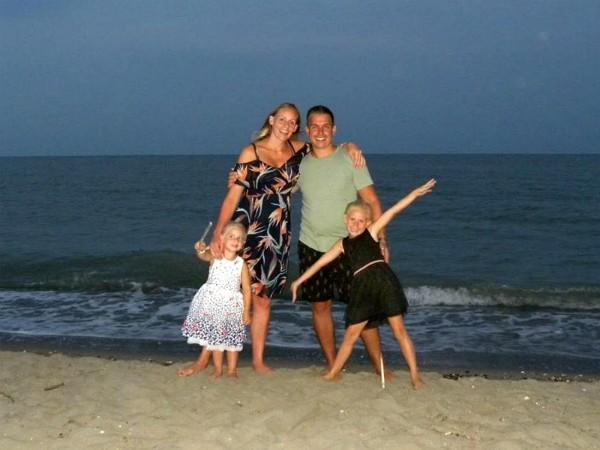 Bianca en haar gezin hebben genoten aan de Adriatische Kust