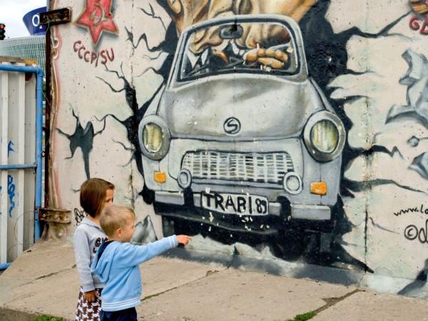 Resten van de Berlijnse muur