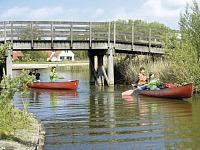 Kanoën bij Landal het Suyderoogh