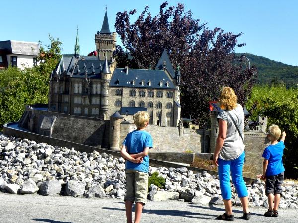 De gebouwen zijn in het Miniaturenpark al even mooi!