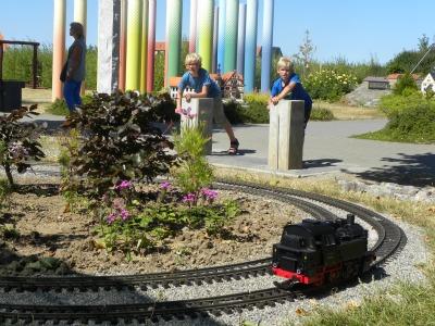 Minatuur treintje rijden in Harz Miniatuur