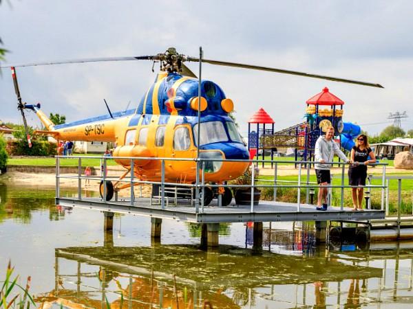 vakantiepark akkertien helikopter