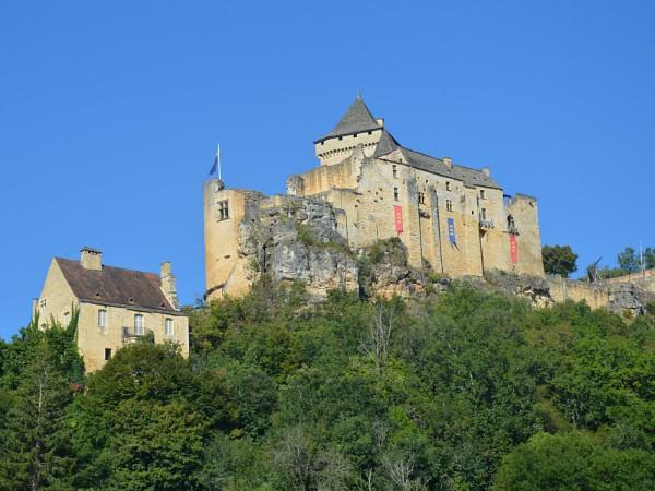 kasteel in de dordogne