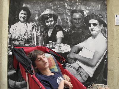 Hessel op vakantie in Frankrijk
