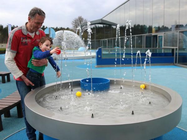 Waterballen spel bij Hidrodoe