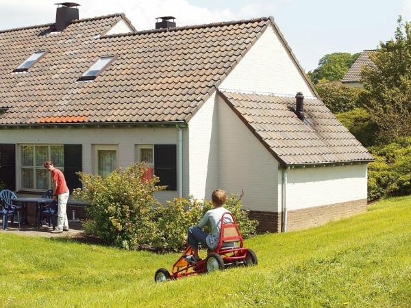 Een vakantiepark tussen de heuvels van Zuid-Limburg