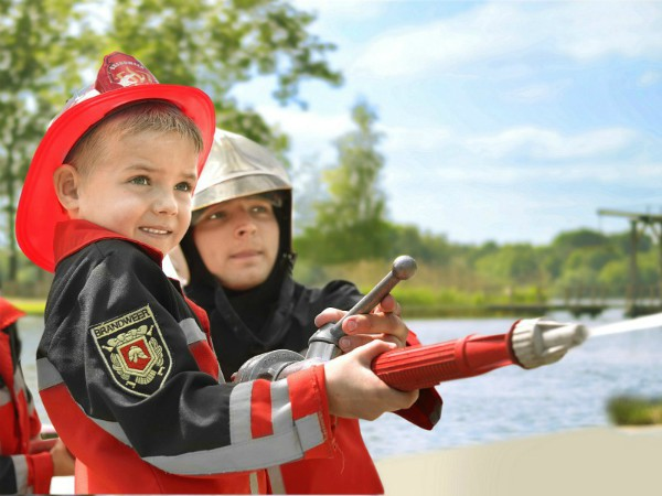 Wannabe een brandweerman