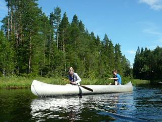 Heerlijk kanoën in Zweden