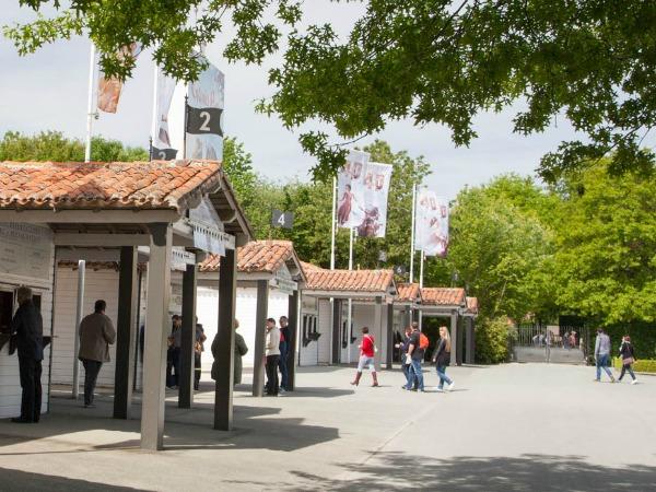 De ingang van het Grand Parc van Puy du Fou