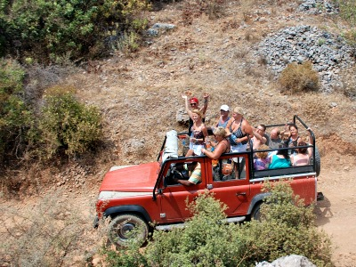 Jeep excursie in het binnenland