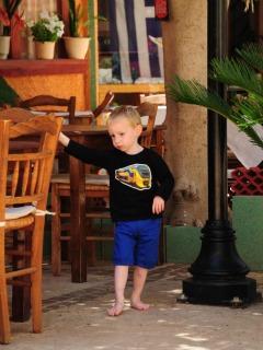 Kinderen zijn overal welkom op Kreta