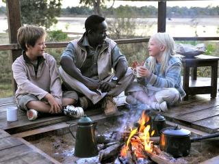 Rond het kampvuur in Zambia