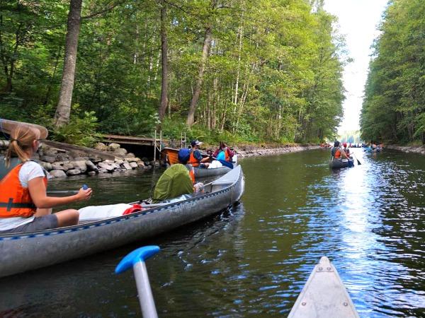Met de kano door de prachtige natuur