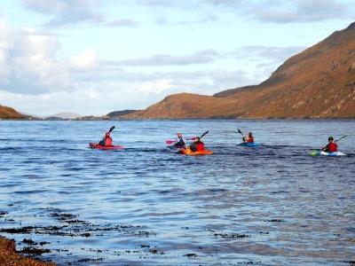 Kayakken in het Fjordland Fjord