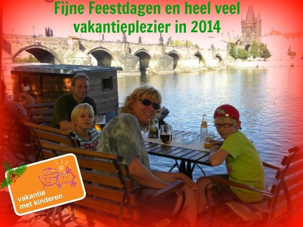 Fijne feestdagen en heel veel vakantieplezier in 2014