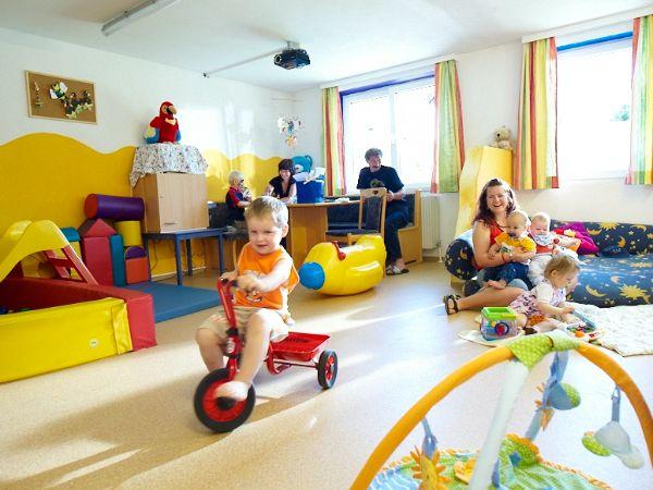 Dolle pret bij de kinderopvang