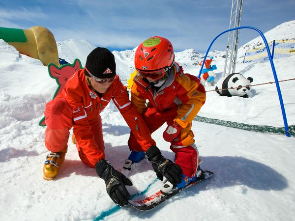 Speciale kinderskischool in Serfaus