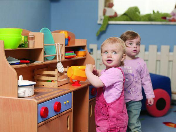 Speelkeukentje in één van de hotels van Kids & Go