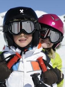 Klaar om te skiën