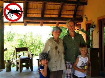 De kinderen zijn meer dan welkom bij Kololo, in Malariavrij gebied!