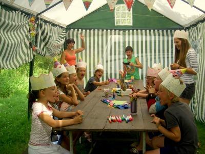 Kidsclub bij Camping La Plaine