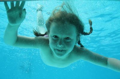 Kim onder water