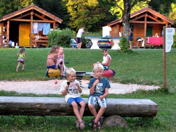 Een leuke kindercamping in de Jura