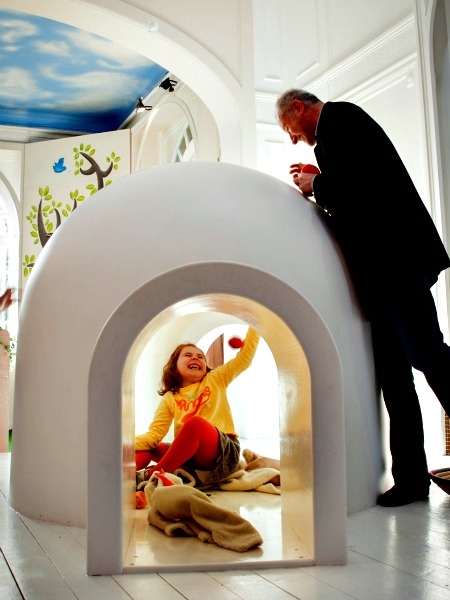 Het Kindermuseum in Brussel