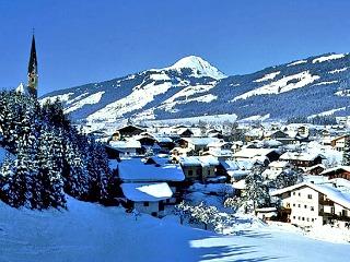 Kirchberg, bijna Hollands dorp in Oostenrijk